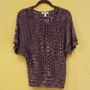 Dressbarn, Size Small, Short Sleeve Sweater